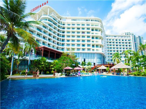 三亚四所海景酒店位于中国海南岛南端的三亚市三亚湾西岸,可俯瞰壮丽