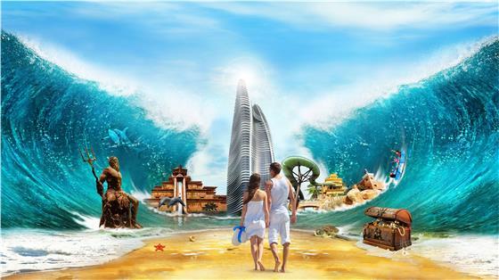 【超值特惠】海南三亚4晚5天百变自由行【海棠湾/亚特兰蒂斯海景房/提