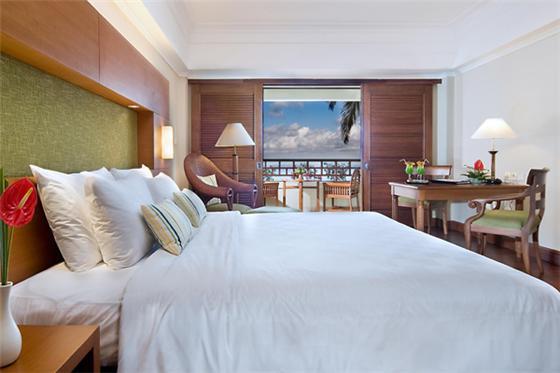 行程安排:  第1到4天房型:海景房ocean view 巴厘岛日航酒店 nikko